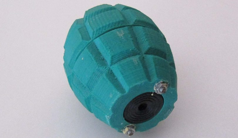 Airsoft sonic grenade - Bottom