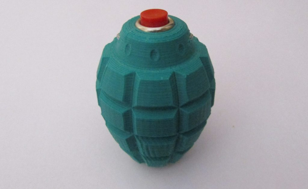 Airsoft sonic grenade - Front